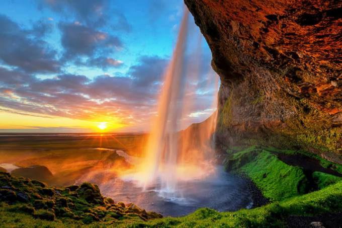 6. Seljalandsfoss waterfall, Iceland