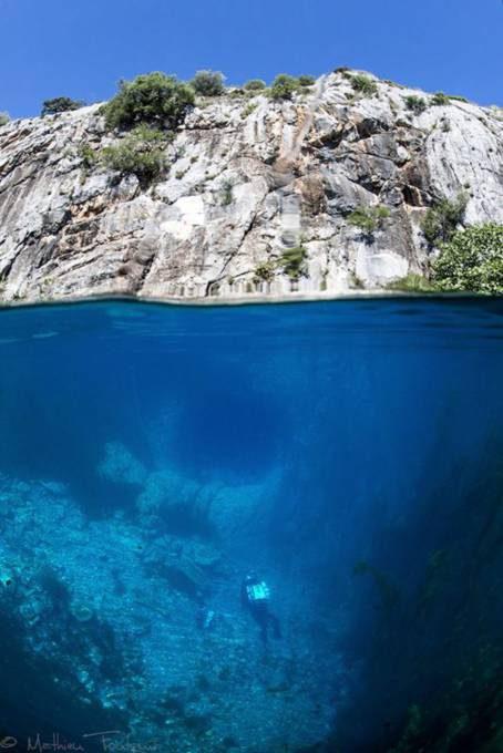 7. Mediterranean Sea, France