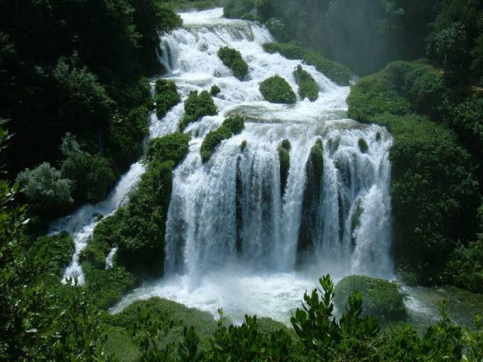 8. Cascata delle Marmore, Italy