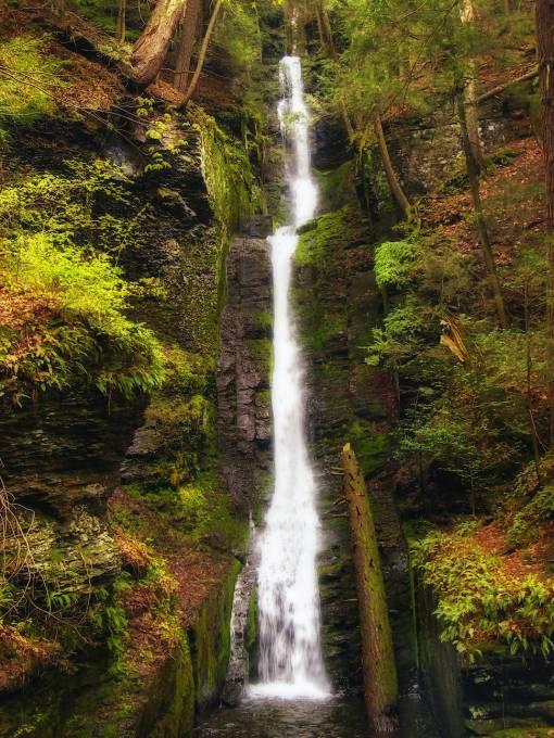 9. Silverthread Falls, Pennsylvania