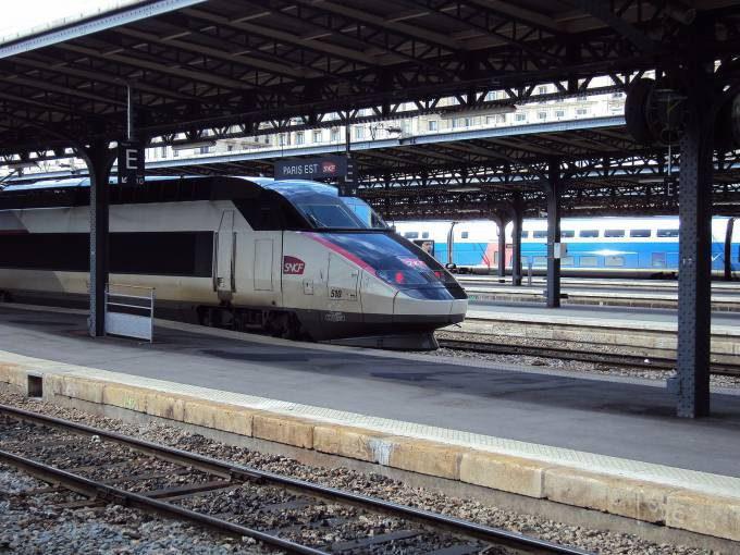 TGV Réseau From France