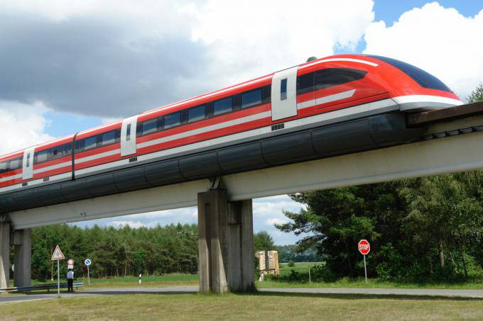 Transrapid TR-09 From Germany