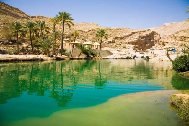 1. Wadi Bani Khalid ประเทศโอมาน