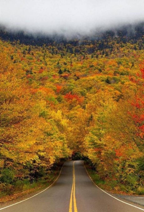 16. Smugglers Notch in Vermont, USA