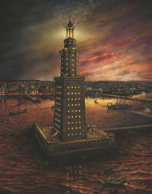 2.ประภาคารฟาโรสแห่งอเล็กซานเดรีย1