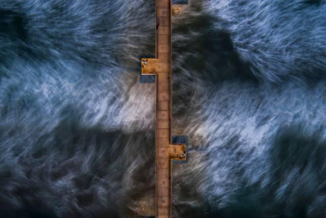 31. สายน้ำที่เคลื่อนไหวใต้ท่าเรือเวนิส