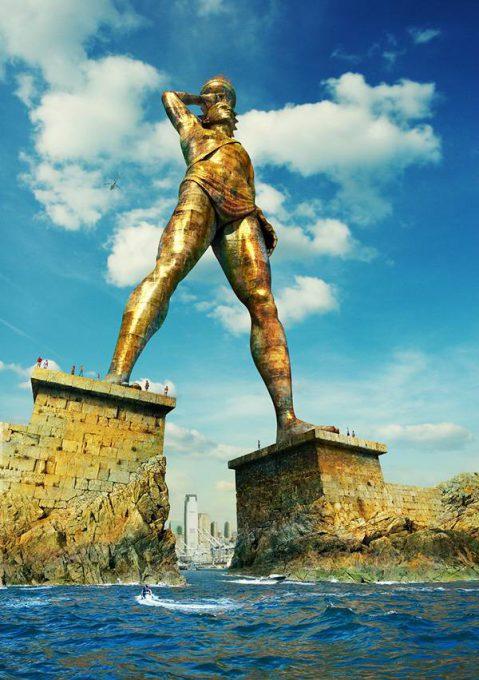 5.อนุสาวรีย์โคโลสซูสแห่งเกาะโรดส์