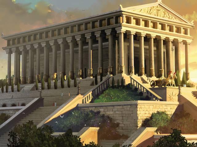 6.วิหารไดอานา (อาร์เทมิส) แห่งเมืองเอฟิซูส