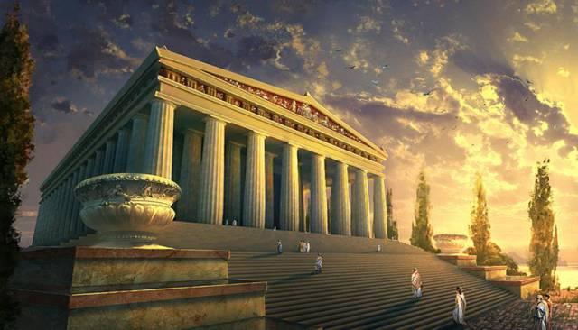 6.วิหารไดอานา (อาร์เทมิส) แห่งเมืองเอฟิซูส1
