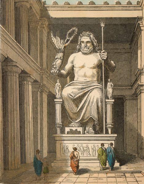 7.อนุสาวรีย์เทพเจ้าซีอุส (จูปีเตอร์)แห่งโอลิมเปีย