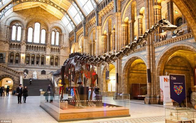 7. ไดโนเสาร์ฟรีๆ กรุงลอนดอน