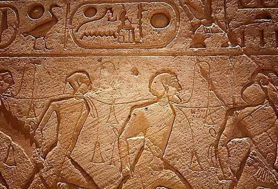 9. ชาวอิสราเอลคือทาสของอียิปต์ในยุคนั้น