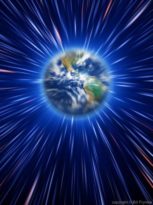zoom-speed-world-globe-space