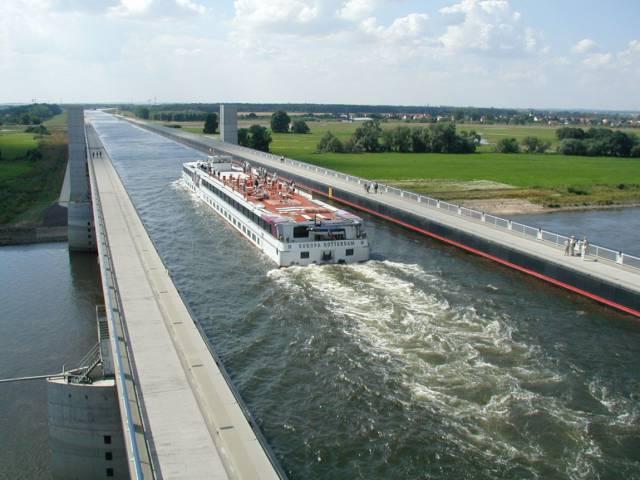 10. Magdeburg Water Bridge ประเทศเยอรมนี1