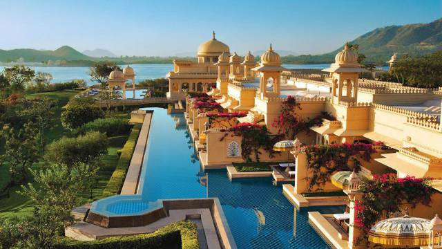 14. The Oberoi Udaivilas in India