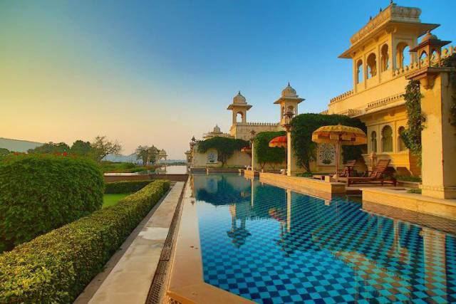 14. The Oberoi Udaivilas in India 1