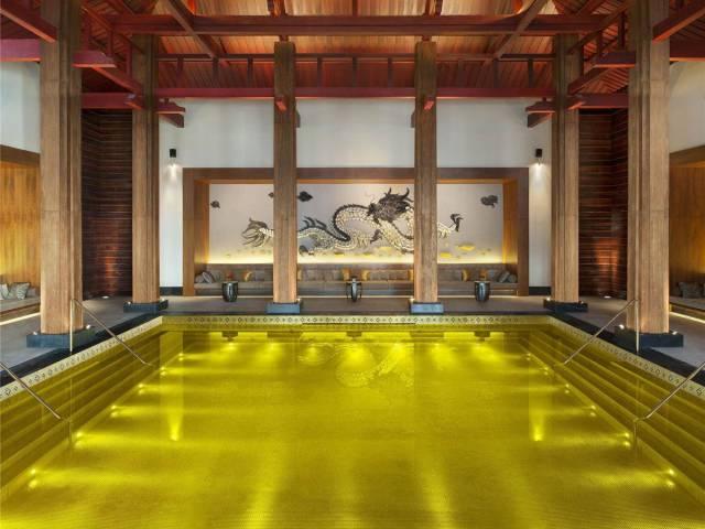 17. The St. Regis Lhasa Resort's Gold Energy Pool in Tibet