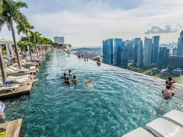 19. Marina Bay Sands Hotel