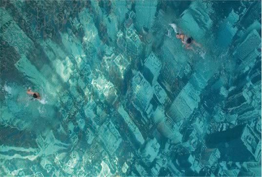 23. สระว่ายน้ำรณรงค์ลดโลกร้อนของ HSBC1