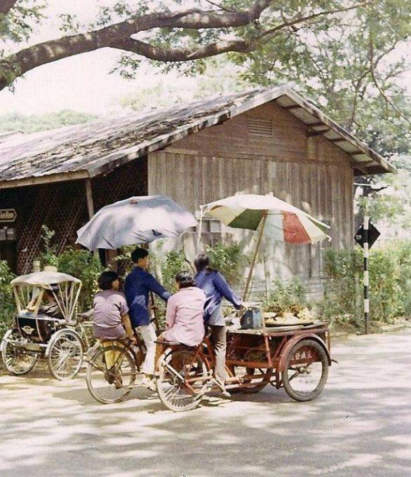 37. รถขายของ จังหวัดอุบลราชธานี ปี 1970