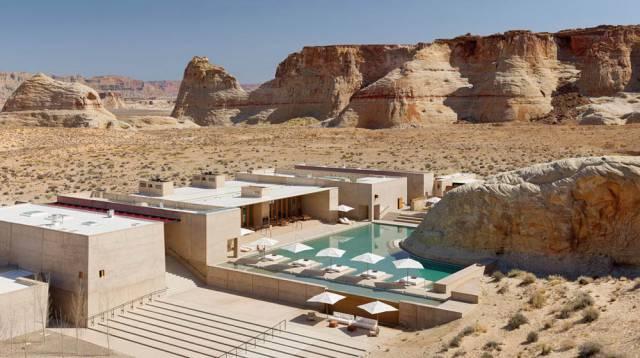 4. Amangiri resort in Utah