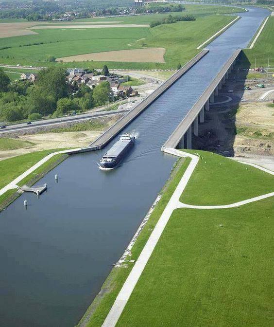 5. Pont du Sart Aqueduct ประเทศเบลเยียม