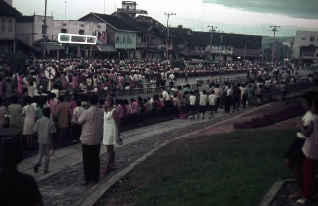 54. ตักบาตรพระ จังหวัดตรัง ปี 19701