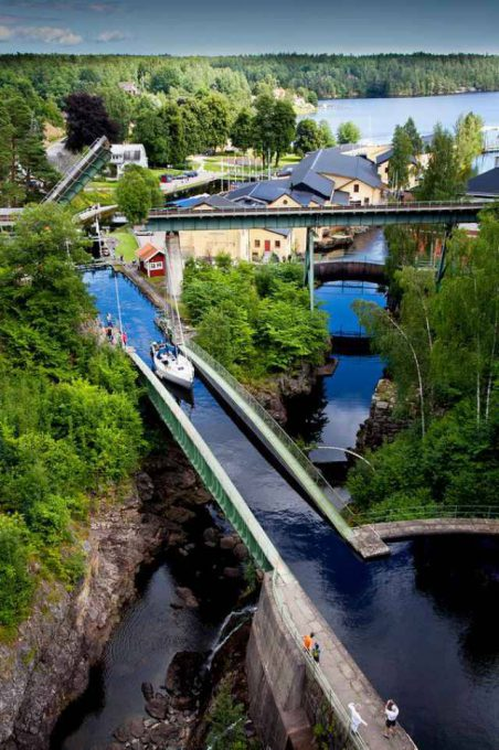 6. Haverud Aqueduct ประเทศสวีเดน