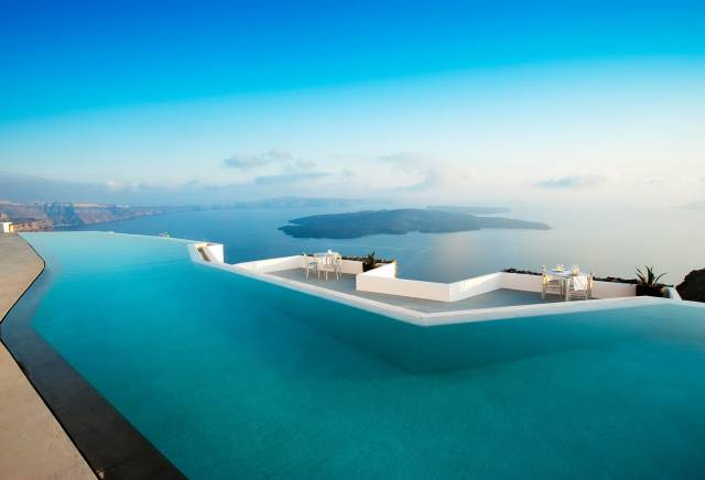 6. The Perivolas Hotel in Greece