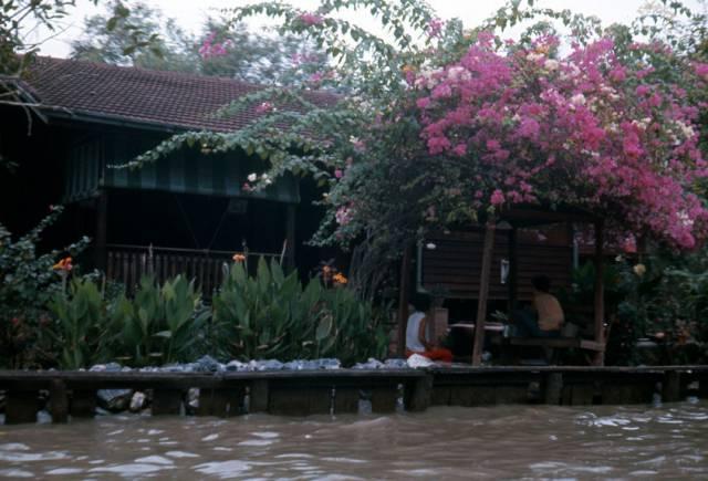 64. บ้านริมคลอง กรุงเทพฯ ปี 1970