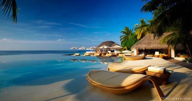 7. Maldives resort Huvafen Fushi